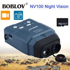 IR Infrared Digital Night Vision Video Camera Monocular Hunting Scope DVR Record