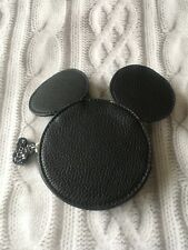 Disney Mickey Mouse Coin Purse Black Holiday