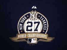 MLB New York Yankees NY World Champions Major League Baseball T Shirt XL