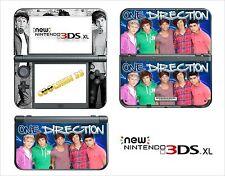 SKIN STICKER - NINTENDO NEW 3DS XL -  REF 161 ONE DIRECTION