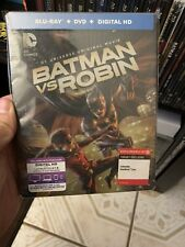 Rare Batman vs Robin Steelbook - DC animated movie- Target Exclusive 🔥