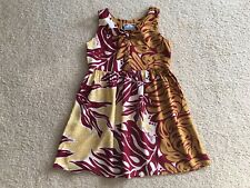 MANUHEALII HAWAIIAN MUUMUU HULA BABYDOLL SUMMER SUN DRESS size XS