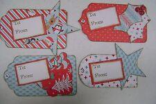 Handmade Christmas Gift Tags Lot   New