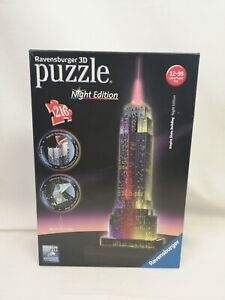 Ravensburger 3D Puzzle Night Edition 216 Pieces Empire State Building P39