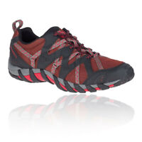 Merrell Mens Waterpro Maipo 2 Walking Shoes Black Red Sports Outdoors Breathable