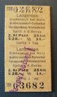 Eisenbahn Fahrkarte  1977   Langenlois - Spitz an der Donau