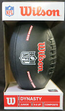 Wilson NFL Dynasty Cover Football Jr Junior Size Composite TDJ Pattern Brand New