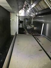 Semi-Truck Tractor & Trailer Mobile Kitchen