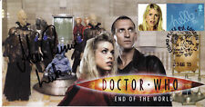 "Doctor Who Collectable Stamp Cover ""End Of The World"" - Signed by ALAN RUSCOE"
