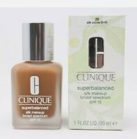 Clinique Superbalanced Silk Makeup Foundation SPF15 20 Silk Cocoa NEW Boxed