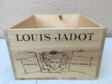 Wine Box Case Crate 6 Bottle French Domaine Louis Jadot Burgundy Beaune