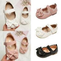 Toddler Infant Kids Baby Girls Elegant Flower Single Princess Shoes Sandals NEW