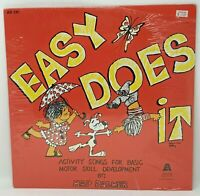 NEW SEALED Easy Does It by Hap Palmer Vintage Vinyl Record LP (Activity, 1977)