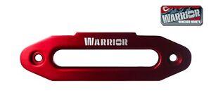 """Warrior Winches Aluminium Fairlead For 10"""" Drum - Red"""