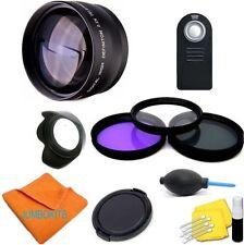 Telephoto Zoom Lens KIT for Canon EOS Rebel DSLR Camera XS XSI XTI T3 T3I T