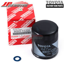 FACTORY OEM TOYOTA OIL FILTER + DRAIN PLUG GASKET 90915-YZZD1 90430-12031