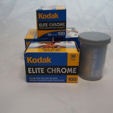 5 rolls of Kodak Elite Chrome 36exp.