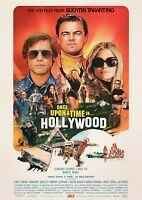 "Reproduction ""Once Upon A Time In Hollywood"" Poster, Tarantino"