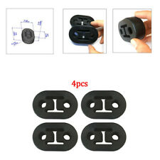 4Pcs/Set Exhaust Mount Rubber Insulator Grommet Hanger Bushing 2 Holes Durable