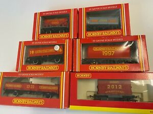 Hornby  OO scale Hornby collector wagons, mixed set of 6.