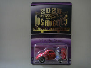 Hot Wheels - 2020 34th Collectors Convention '41 Willys Gasser Blood Shot - RLC
