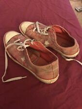 Destroyed Converse One Star Womens Shoes Size 11