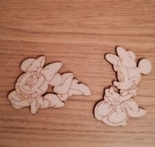 Wooden Mixed Minnie 3 Mm Mdf Craft Shape Blank