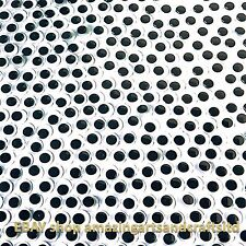 Yeux wiggle wiggly doux craft google 10mm noir 500 yeux