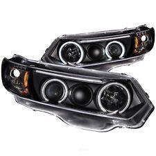 Headlight Set For 2006-2011 Honda Civic Coupe 2007 2008 2009 2010 Anzo 121062
