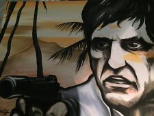 Scarface Painting By Ulises Baine