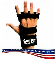 Feeling It Today Cross Training Gloves w/ Wrist Wraps Strong Hand Protect M -NEW