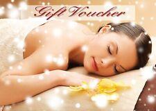 Blank beauty Salon massage gift certificate/cards x25 plus free envelopes...