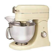 Morphy Richards 800 W Professional Diecast Stand Mixer with Guard Cream 400009