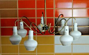 50er Vintage Ceiling Light Chandelier Pendant Lamp Cone Lamp
