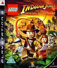 LEGO INDIANA JONES PS3 KIDS GAME REGION FREE COMPLETE