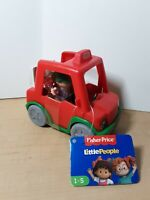 Fisher Price Little People Have a Slice Pizza Delivery Car With Figure - NEW - U