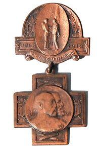 gettysburg 1913 reunion badge