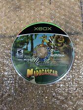 Madagascar (Original Xbox, 2005) Disc Only, Tested