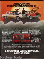 1980 PONTIAC PHOENIX advertisement, Pontiac Phoenix coupe and hatchback
