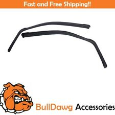 EGR 561501 In-Channel Window Deflectors - Front Pair ONLY - Smoke