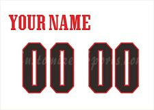 NCAA University of Maryland Customized Number Kit for 2014 Football White Jersey