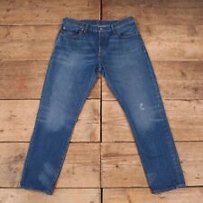 "Womens Vintage Levis Red Tab 501 CT Slim Tapered Denim Jeans 34"" x 29"" R14412"