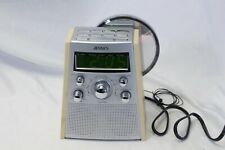 Jensen JCR 560 Radio Atomic Dual Alarm Clock Radio CD Player Tested Guaranteed