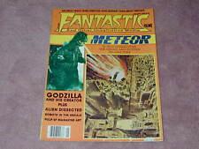 Fantastic Films magazine # 13 Godzilla, Pulp Science Fiction art, Alien Jan 1980