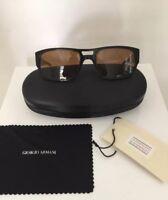Vintage Giorgio Armani Sunglasses GA 2519 C. Shiny Black & Tortoise 54mm Italy