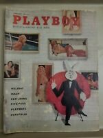 Playboy  January 1958 * Good Condition * Free Shipping USA