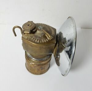 OLD MINER'S JUSTRITE CARBIDE LAMP