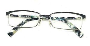 Ray Ban RB8633 1017 Black Half Rim Titanium Z Eyeglasses 54/17 140 (A)