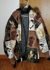 Men's Tupac 2pac Shakur Leather Jacket Al Wissam 6xL All Eyez on Me Death Row