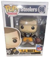 Pittsburgh Steelers T.J. Watt NFL Funko Pop #98 TJ T J NEW IN BOX Football